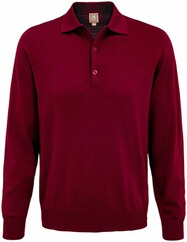 MAERZ Polo-Pullover bordeaux
