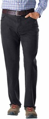 EUREX BY BRAX Stretch-Jeans Pep schwarz