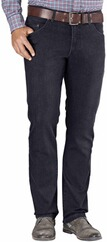 EUREX BY BRAX Tiefbund Stretch-Jeans Pep anthrazit
