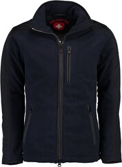 WELLENSTEYN Jet-Fleece-Sport-Jacke darknavy/titan