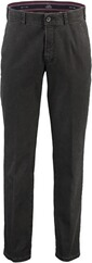 CLUB OF COMFORT High Stretch Baumwollhose anthrazit für Herren