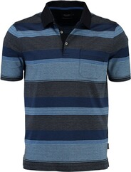MAERZ Polo-Shirt blau
