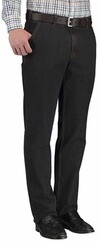 CLUB OF COMFORT High-Stretch Denim Jeans schwarz
