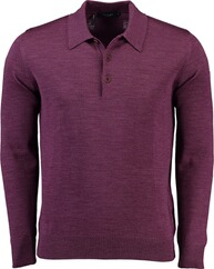 MAERZ Polo-Pullover beere