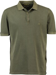 camel Polo-Shirt oliv