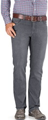 EUREX BY BRAX Five-Pocket Jeans Coolmax grau