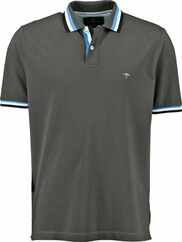 FYNCH HATTON Polo-Shirt grau