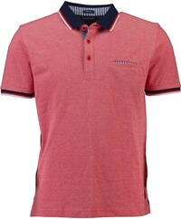 PIERRE CARDIN Polo-Shirt rot