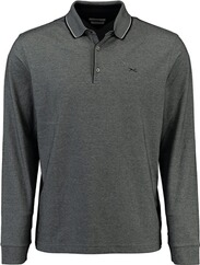 BRAX Polo-Shirt Pharell ultralight und easy care schwarz für Herren