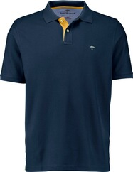 FYNCH HATTON Polo-Shirt marine für Herren