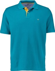 FYNCH HATTON Polo-Shirt aqua für Herren