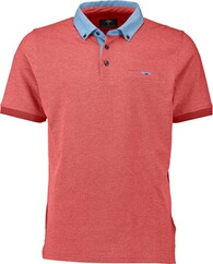 FYNCH HATTON Polo-Shirt rot Button-Down-Kragen für Herren
