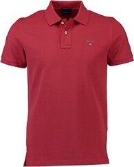 GANT Polo-Shirt The Original Piqué  rot für Herren